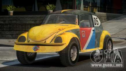 Volkswagen Beetle Prototype from FlatOut PJ1 para GTA 4