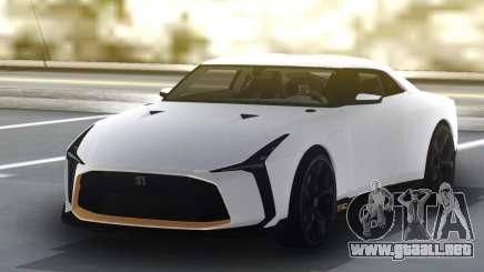 Nissan GT-R 50 para GTA San Andreas