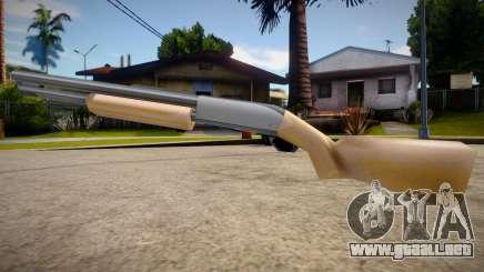 Chromegun HD (good textures) para GTA San Andreas