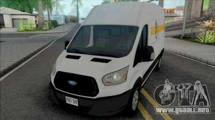 Ford Transit 2016 Post Op para GTA San Andreas