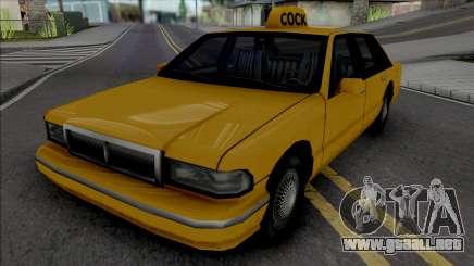 James Mays Approved Taxi para GTA San Andreas