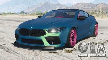 BMW M8 Competition coupe Mansaug (F92) 2019 v2.1 para GTA 5