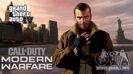 Call of Duty Modern Warfare (2019) Weapons Sound para GTA 4
