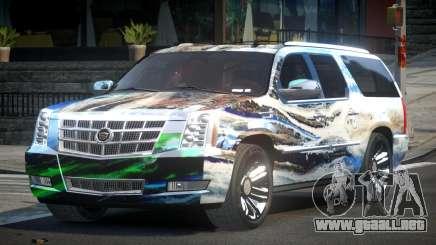 Cadillac Escalade US S6 para GTA 4