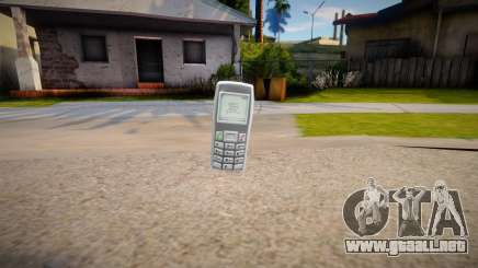 Phone from GTA IV para GTA San Andreas