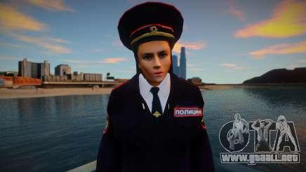 Oficial de policía ruso para GTA San Andreas