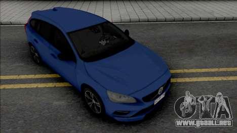 Volvo V60 T6 para GTA San Andreas