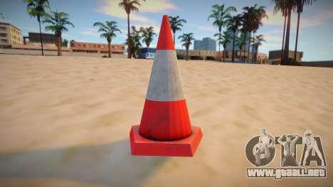 HQ Traffic Cone para GTA San Andreas