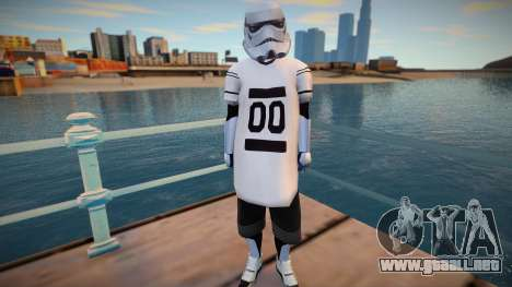 Star Wars Stormtrooper para GTA San Andreas