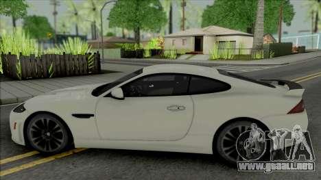 Jaguar XKR-S [HQ] para GTA San Andreas