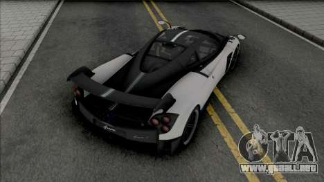 Pagani Huayra BC [IVF] para GTA San Andreas