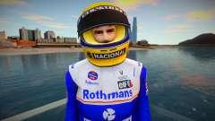 Ayrton Senna da Silva Skin Rothmans Team William para GTA San Andreas