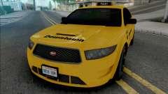 Vapid Torrence Taxi Downtown para GTA San Andreas