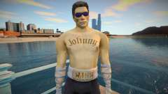 Johnny Cage wrestling para GTA San Andreas