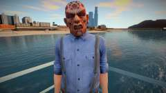 Dude in scary mask from DLC Halloween GTA Online para GTA San Andreas