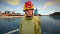 Nuevo bombero Los Santos para GTA San Andreas