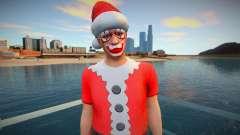 Christmas ped from GTA Online para GTA San Andreas