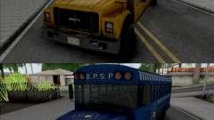GTA V Brute Prison and School Bus para GTA San Andreas
