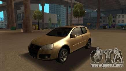 Volkswagen Golf GTI - The Golf is Better para GTA San Andreas