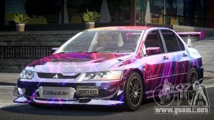 Mitsubishi Lancer Evolution VIII GST-R S10 para GTA 4