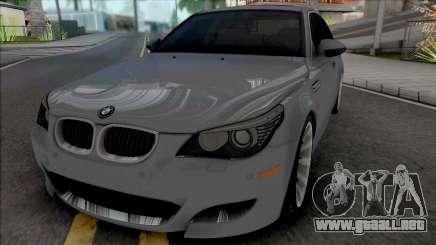 BMW M5 E60 2009 (SA Lights) para GTA San Andreas