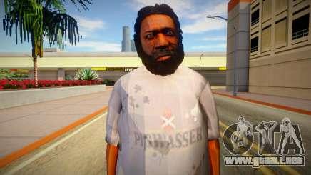 Indigente de GTA 5 v10 para GTA San Andreas