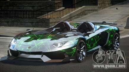 Lamborghini Aventador SP-S S8 para GTA 4