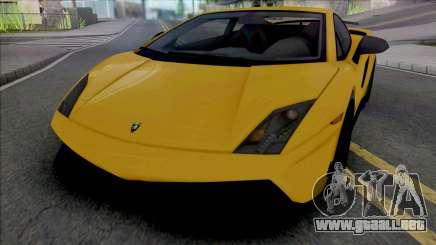 Lamborghini Gallardo LP570-4 Superleggera Edizio para GTA San Andreas