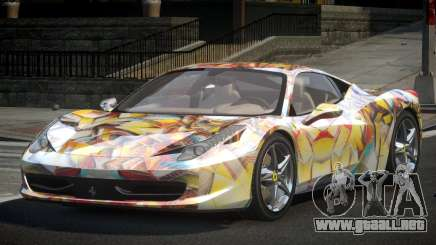 Ferrari 458 U-Style S10 para GTA 4