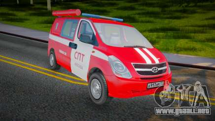 Hyundai H-1 Starex Fire Service Rusia para GTA San Andreas