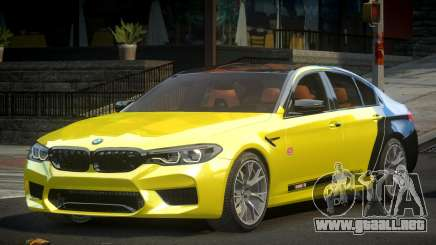 BMW M5 Competition xDrive AT S10 para GTA 4