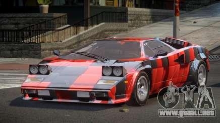 Lamborghini Countach U-Style S4 para GTA 4