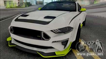 Ford Mustang RTR Spec 5 2021 para GTA San Andreas