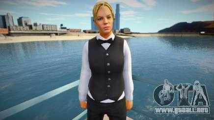 Chica croupier vwfycrp para GTA San Andreas