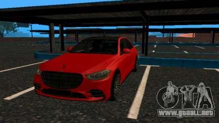 Mercedes-Benz S500 4matic (W223) 2022 V2 fixed para GTA San Andreas