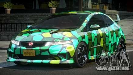 Honda Civic PSI-U L7 para GTA 4