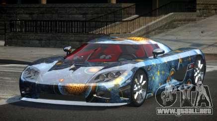 Koenigsegg CCX GST-R S7 para GTA 4
