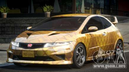 Honda Civic PSI-U L8 para GTA 4