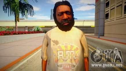 Indigente de GTA 5 v7 para GTA San Andreas