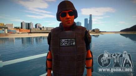 Swat del Estado de Decadencia para GTA San Andreas