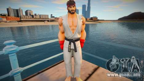 Ryu skin para GTA San Andreas
