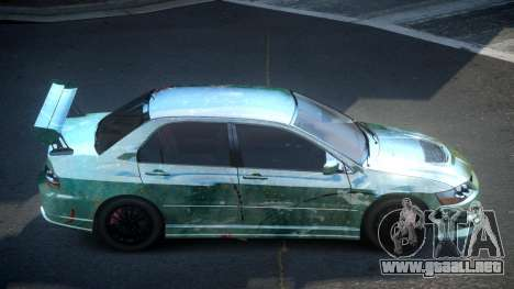 Mitsubishi Evo 8 U-Style S6 para GTA 4