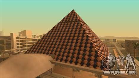 Pirámide de Gordon para GTA San Andreas