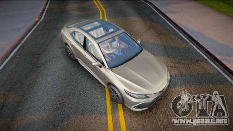 Toyota Camry V75 XLE 2021 para GTA San Andreas