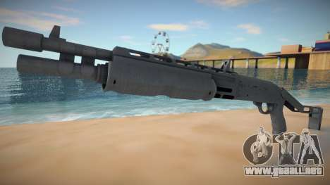 Shotgspa from GTA Online DLC Cayo Perico Heist para GTA San Andreas