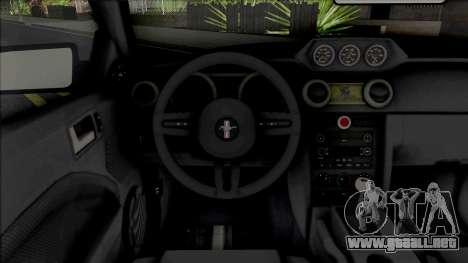 Ford Mustang Shelby Terlingua (SA Lights) para GTA San Andreas