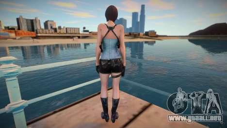 Ada Wong Jill RE2 para GTA San Andreas