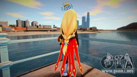 Megadimension Neptunia Collab - Million Arthur para GTA San Andreas