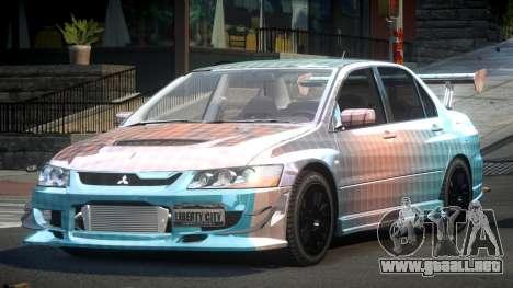 Mitsubishi Evo 8 U-Style S3 para GTA 4