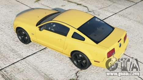 Ford Mustang GT 2005〡black llantas〡add-on